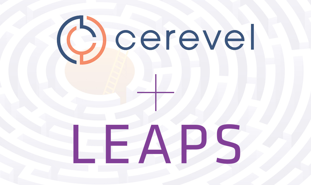 Cerevel and LEAPS logos