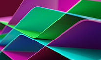 Image of colorful intersecting planes